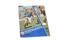 Vintage: Portsmouth vs Walsall programme