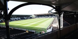 CHANCE TO WIN: Donated by Marcus Bettinelli: TWO TICKETS TO WATCH FULHAM VS NOTTINGHAM FOREST FROM THE CRAVEN COTTAGE BALCONY