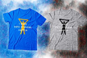 Safe Standing supporter T-shirt