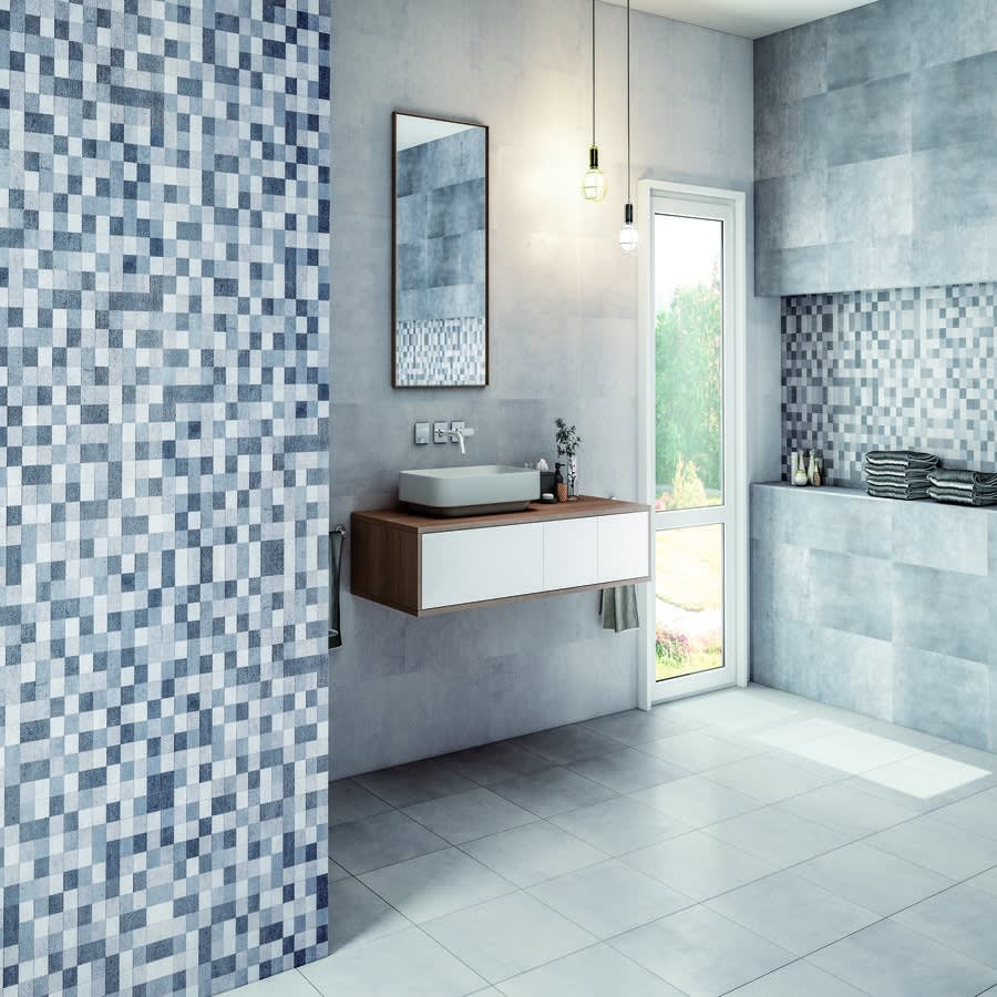Vita Blanco 33cm x 55cm Ceramic Wall Tile