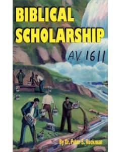 Christian's Handbook/Biblical Scholarship