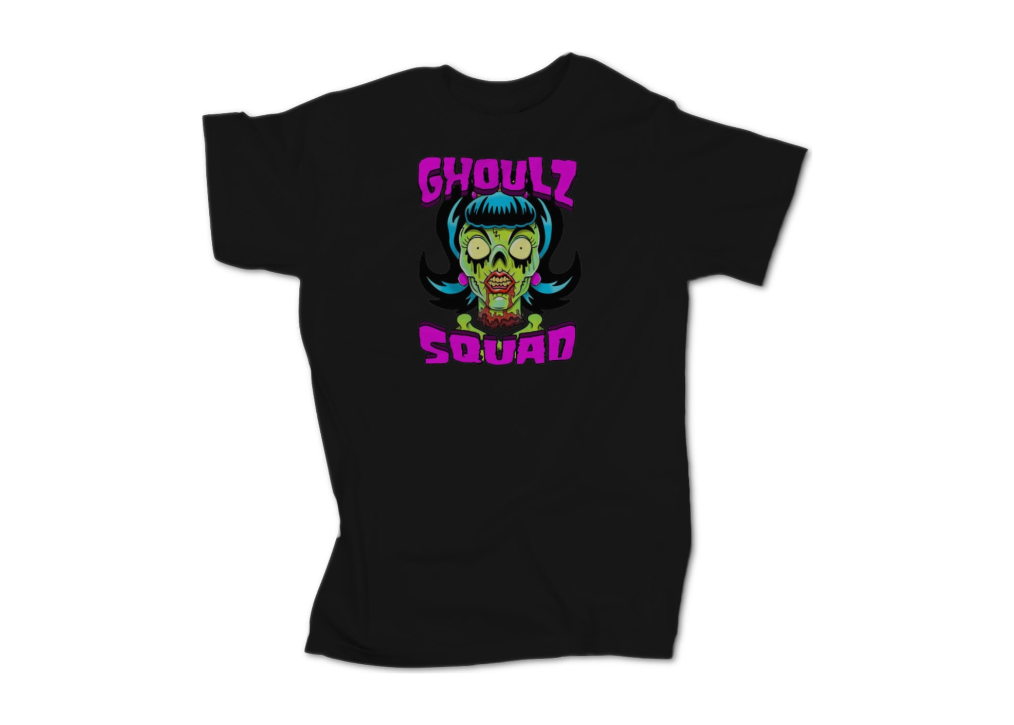 Ghozt tha dmented ghozt female fan shirt  black  1595802684