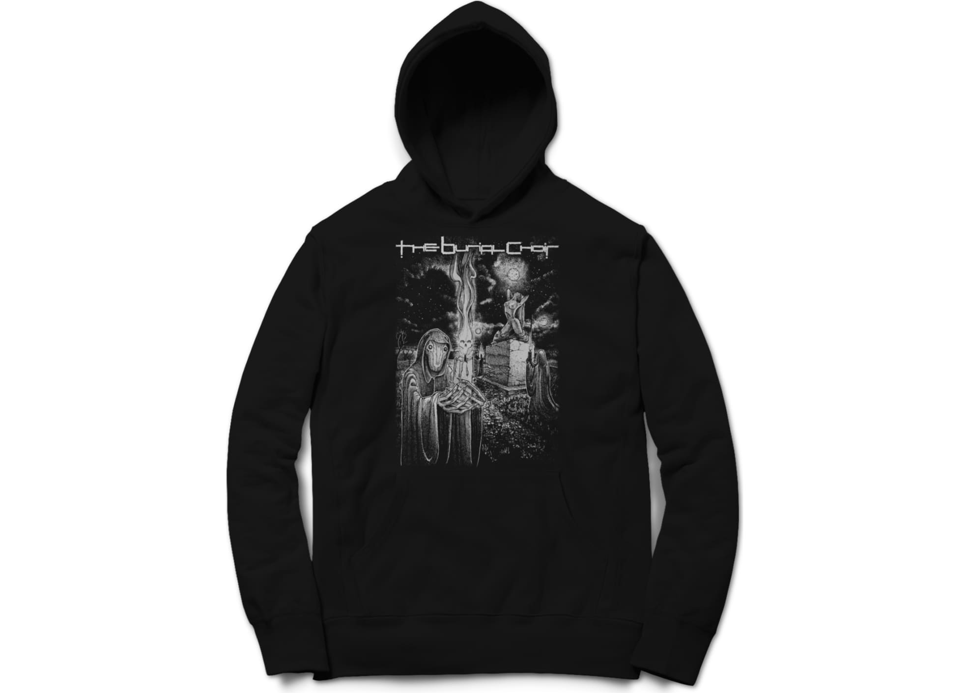 The burial choir relics hoodie 1597285469