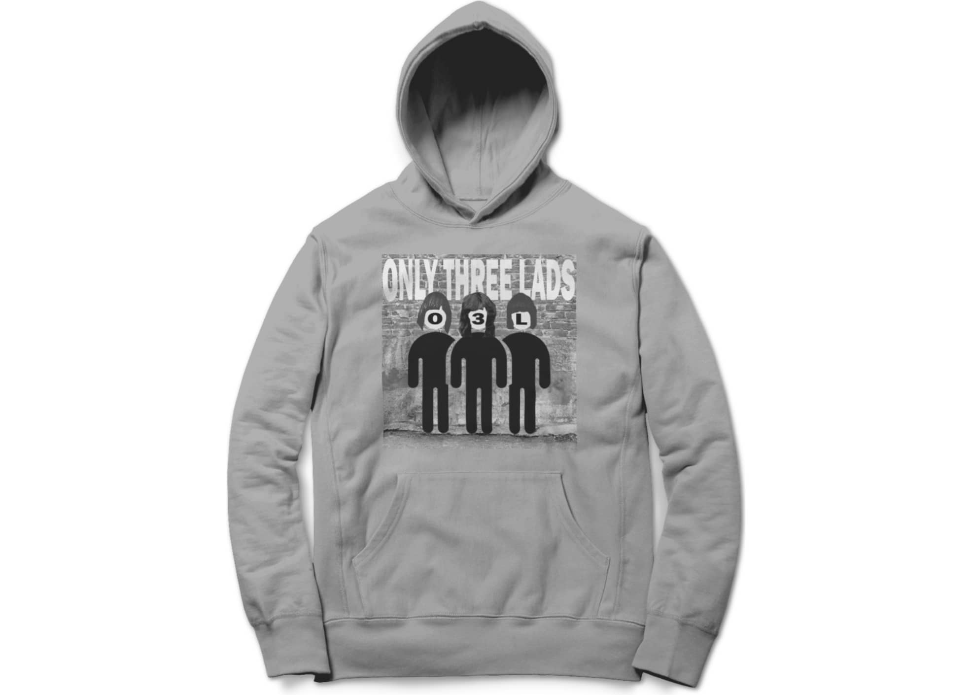 Only three lads faux mones  grey  1582937554