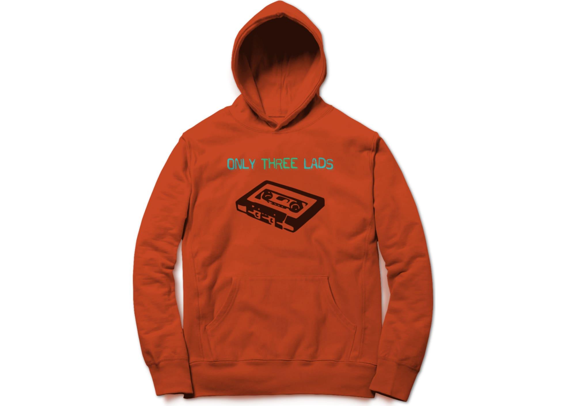 Only three lads o3l   tape  orange  1579510820