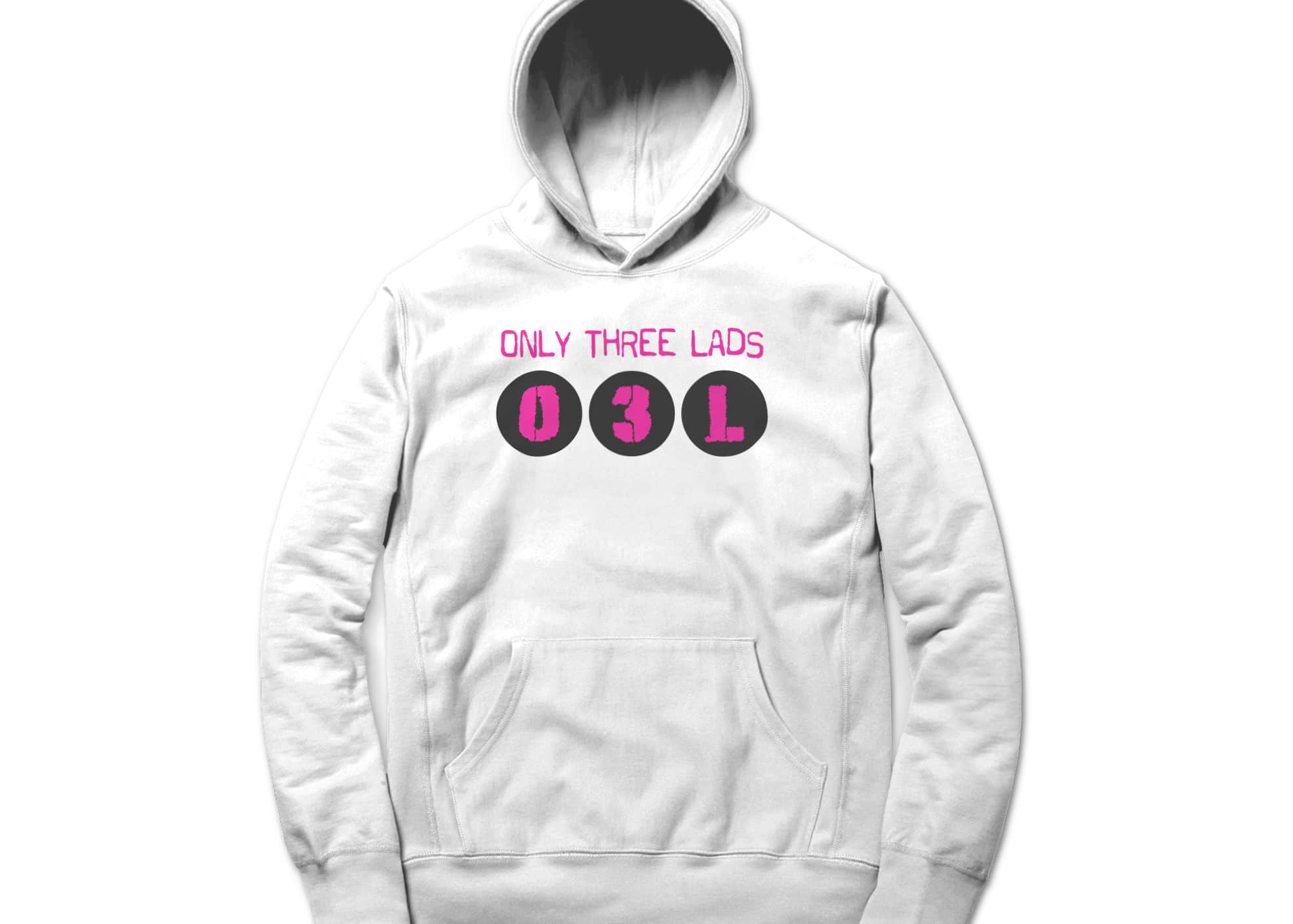 Only three lads o3l podcast   logo design  white  1579509575
