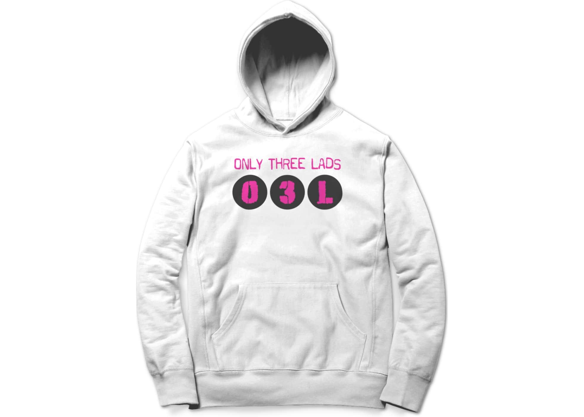 Only three lads o3l podcast   logo design  white  1579509575
