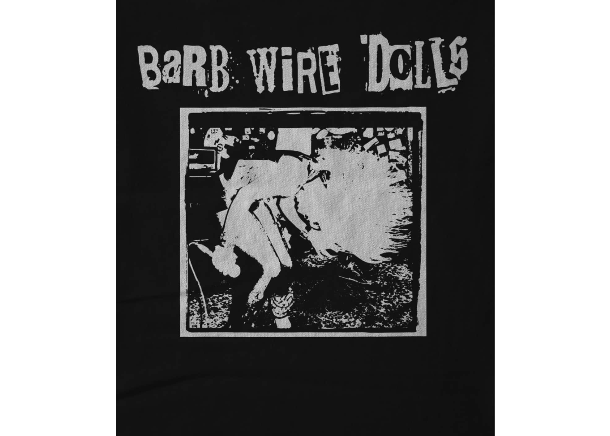 Barb wire dolls   official logo design j8tpoh