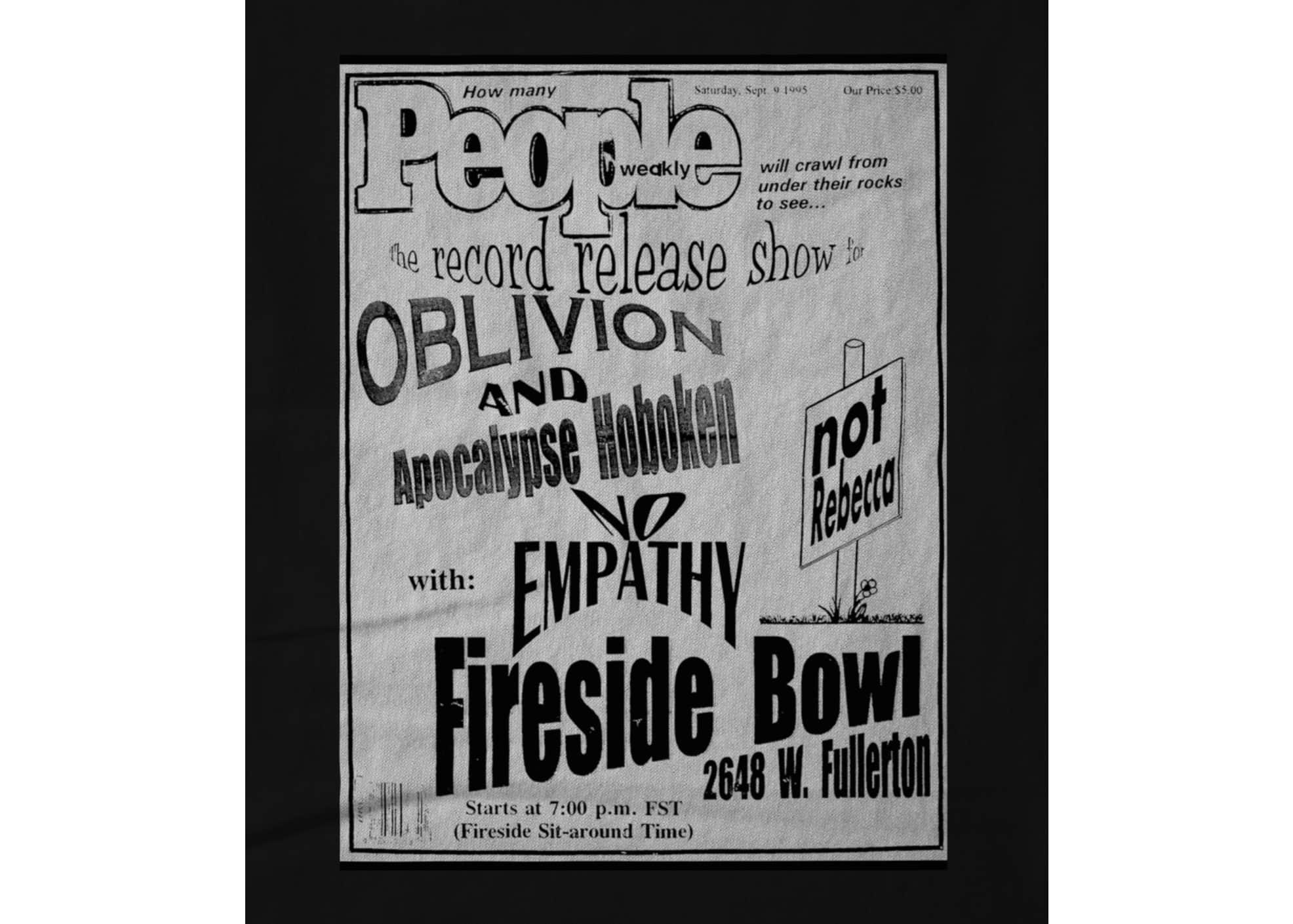 Oblivion record release show  new  1628615096
