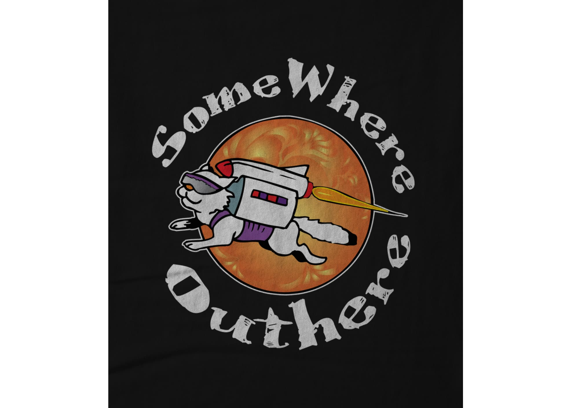 Somewhere outhere flying cat design by trey mcgriff 1473476244