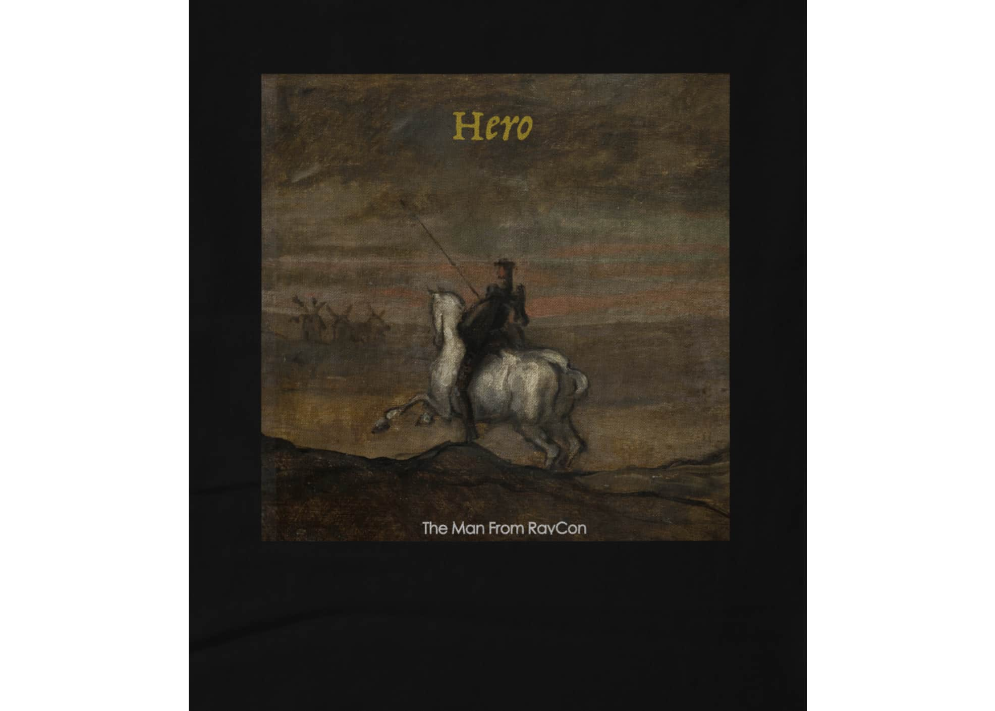 The man from ravcon hero t   black 1624716732