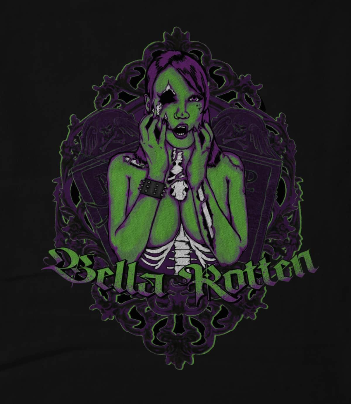 Bella rotten rotten  black  1595806671