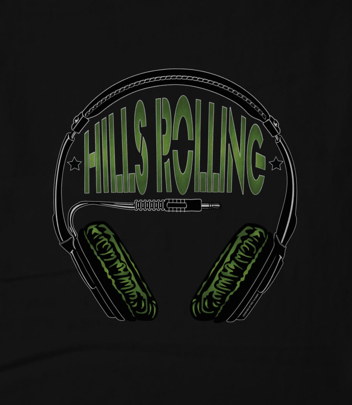 Hills rolling plug in your headphones design by trey mcgriff 1474476668