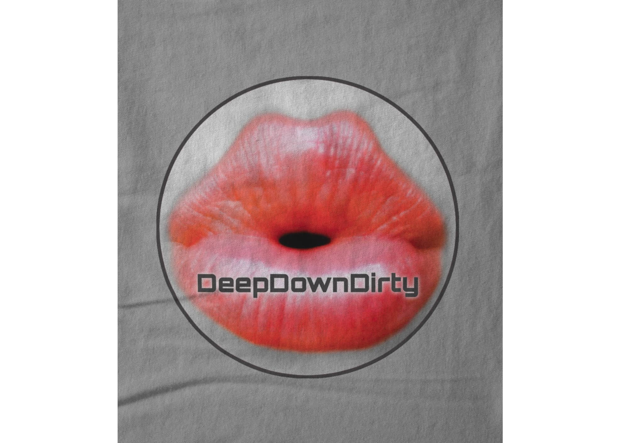 Deepdowndirty record label classic lips round 1522800105