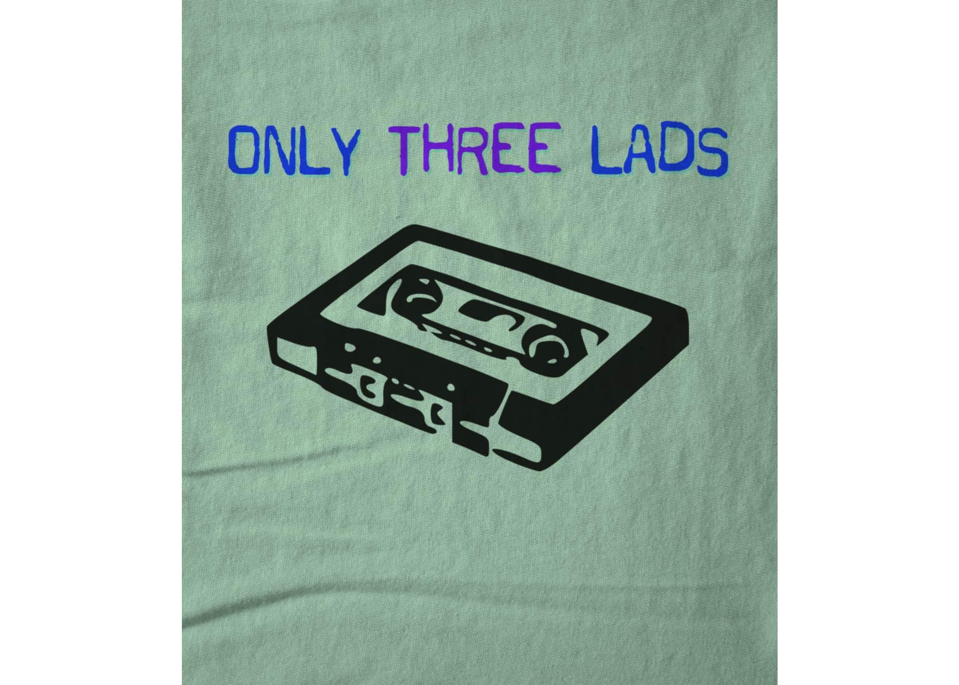 Only three lads o3l   tape  mint  1579511125