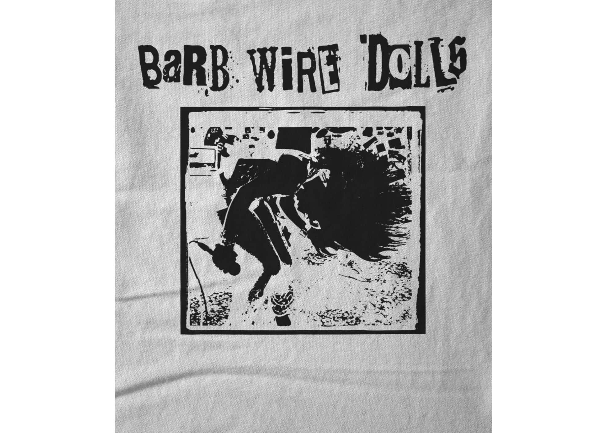 Barb wire dolls   official logo design inverted wrjjan