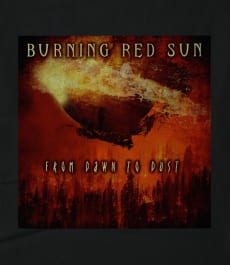Burning Red Sun