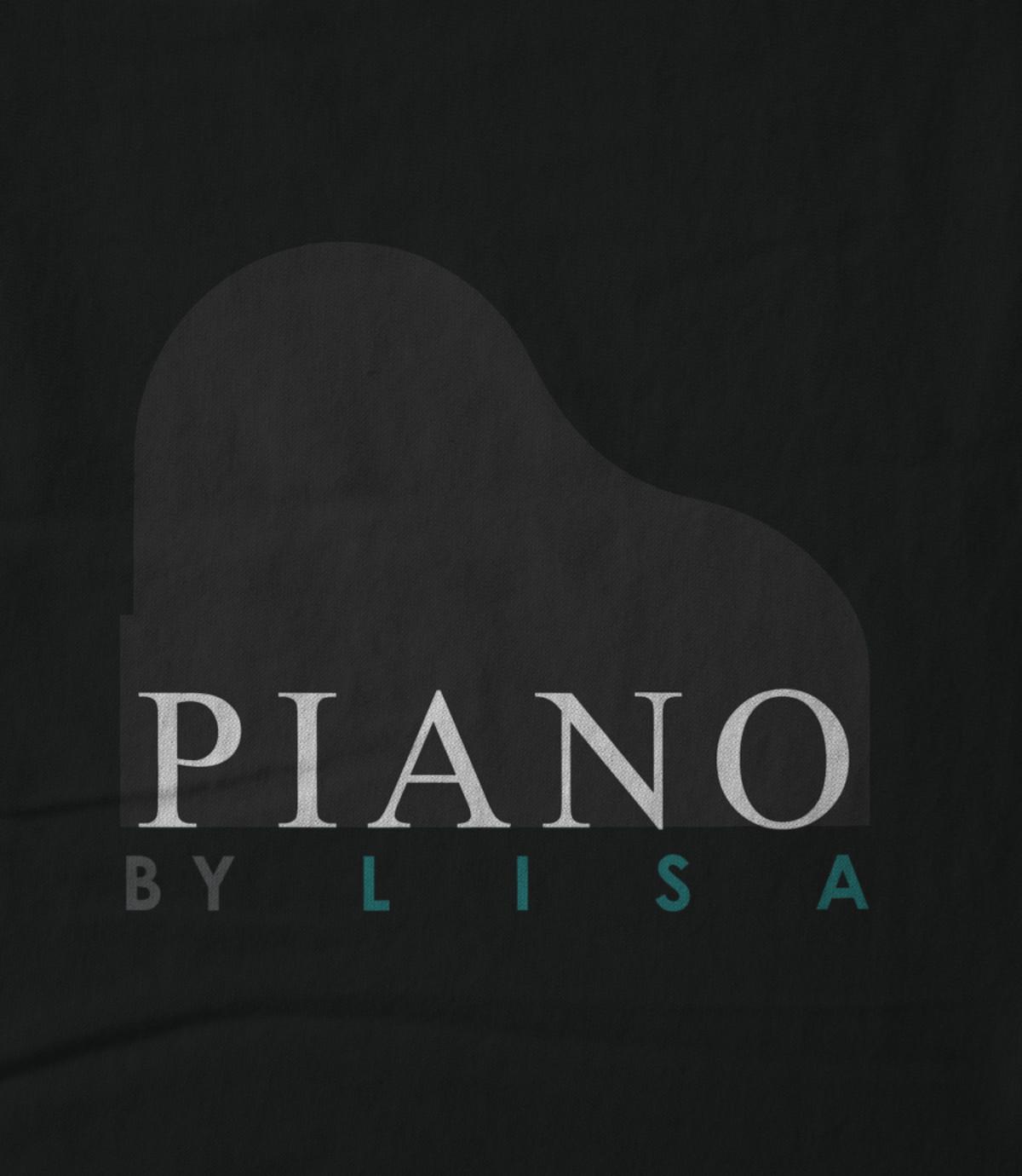 Piano by lisa t shirt white  1523830915