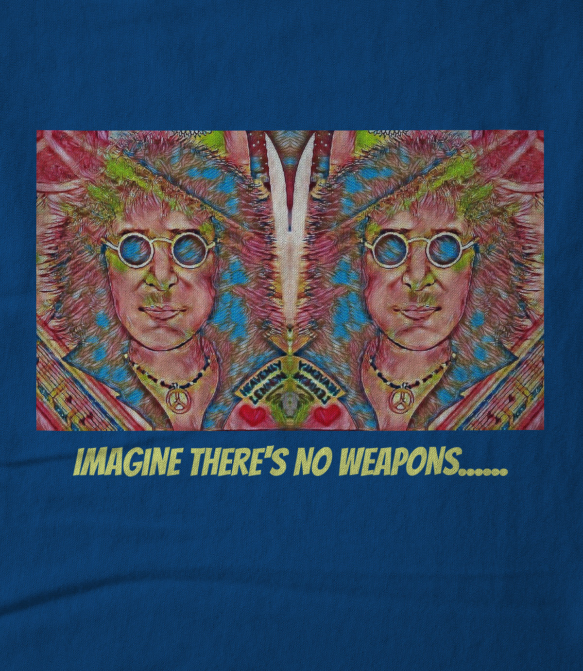 Art whimsically yours studio imagine there s no weapons    1535483128