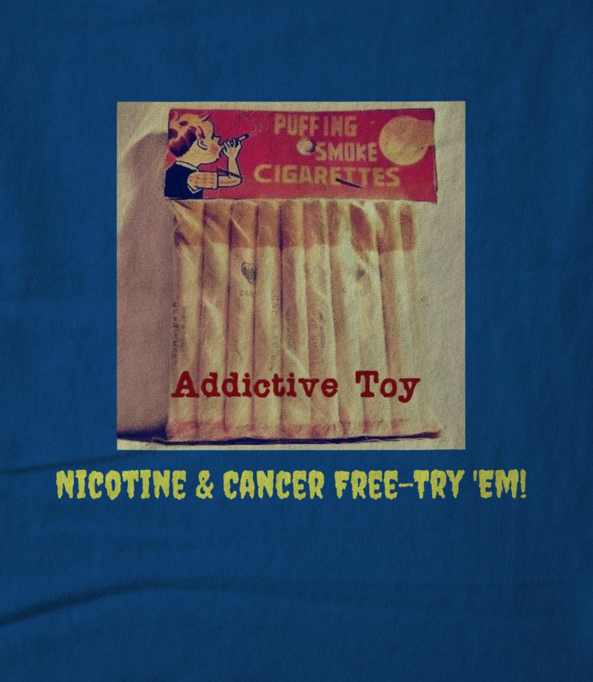 Art nicotine   cancer free try  em  1535486496