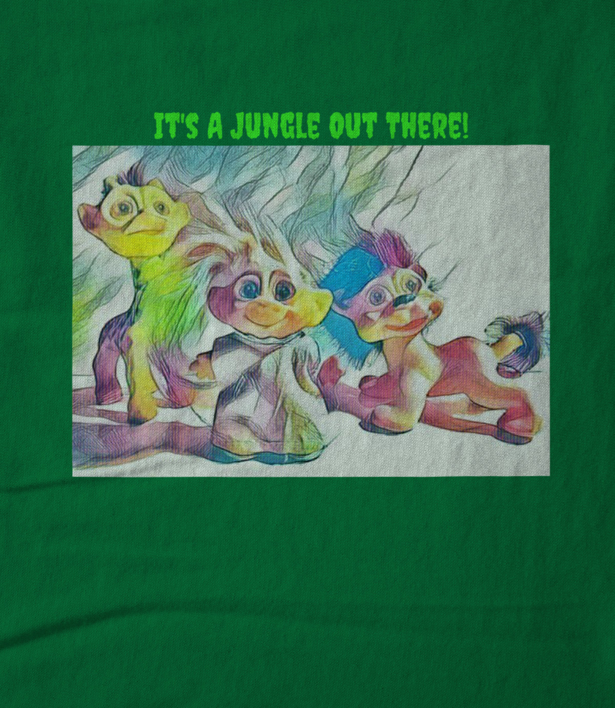 Art whimsically yours studio it s a jungle out there  1509551412