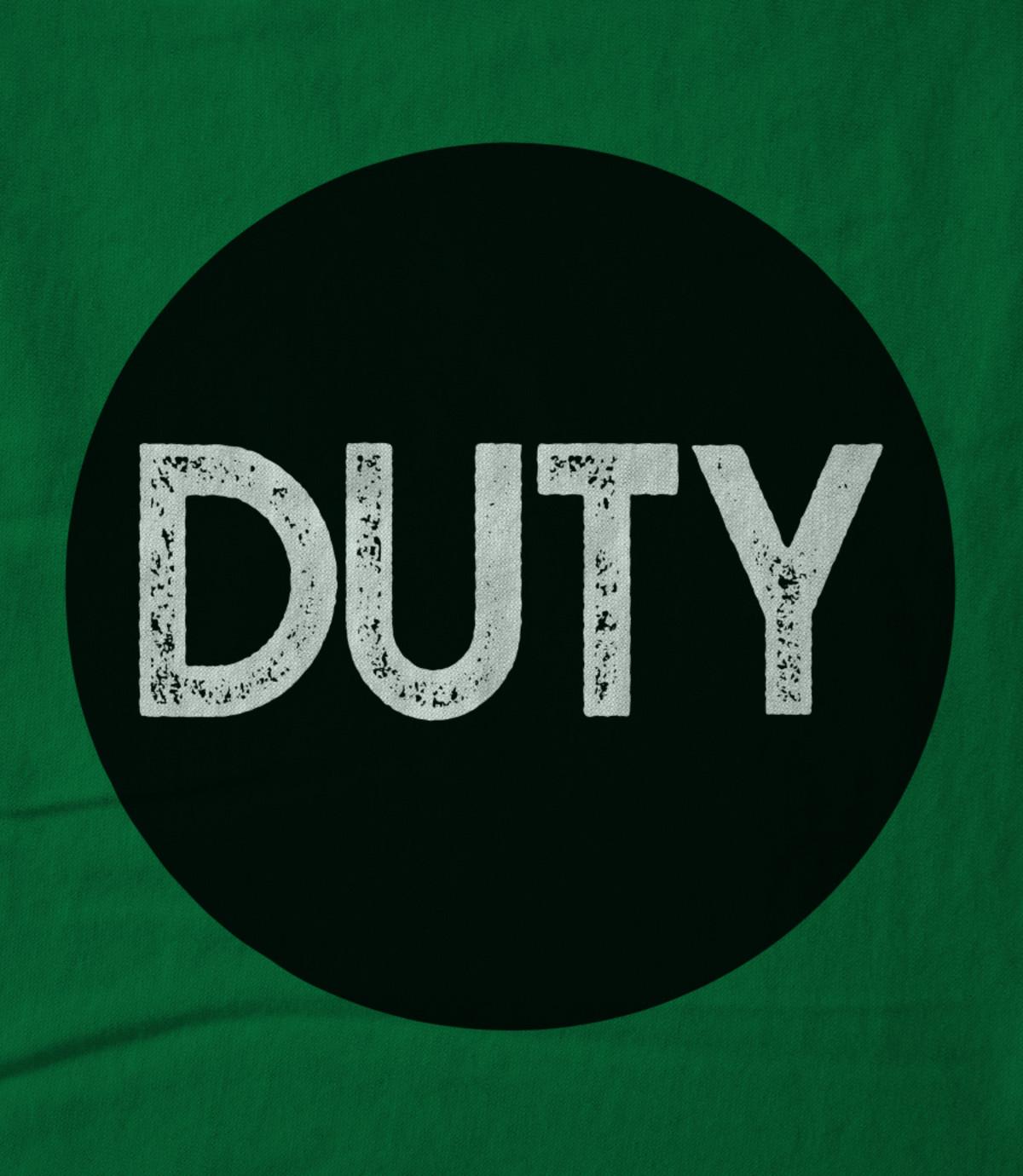 Duty duty circle logo green 1542364193