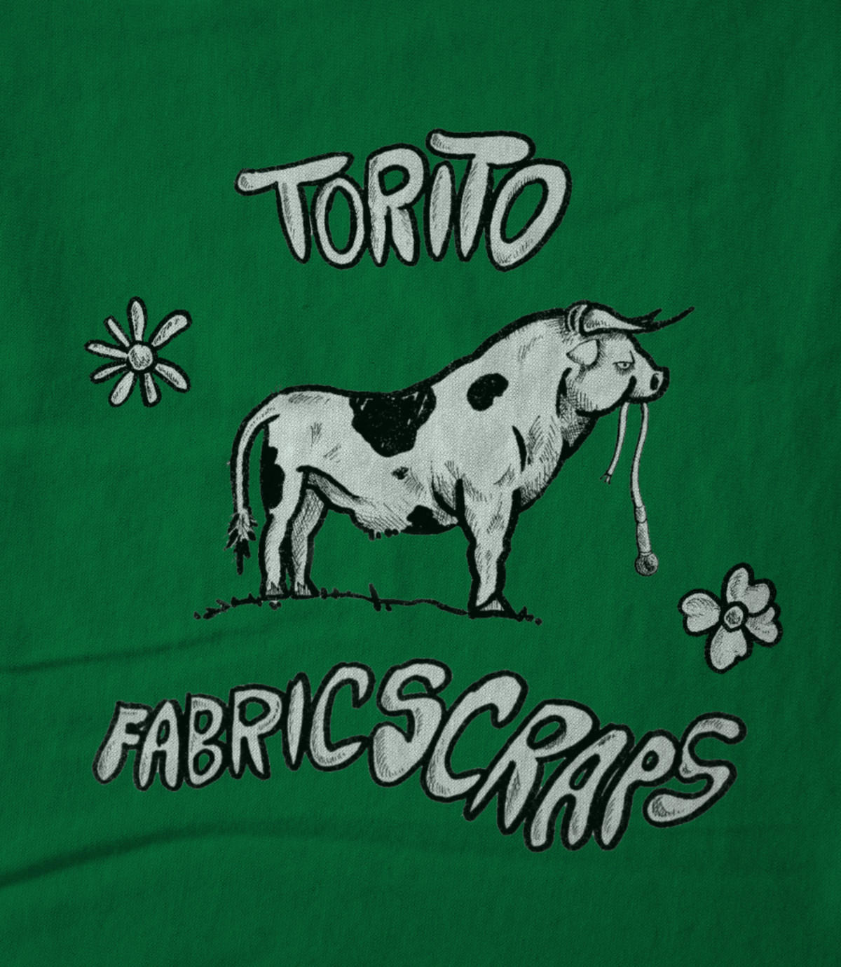 U don t deserve this beautiful art torito fabric scraps 1514755975