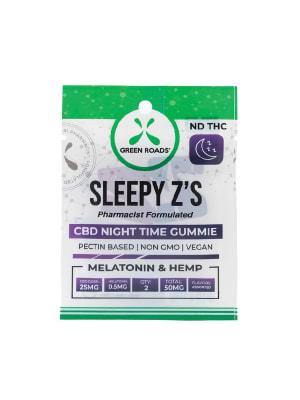 Green Roads Sleepy Zs - 50 mg