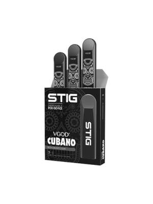 Stig Disposable Pod Cubano - 3 Pack