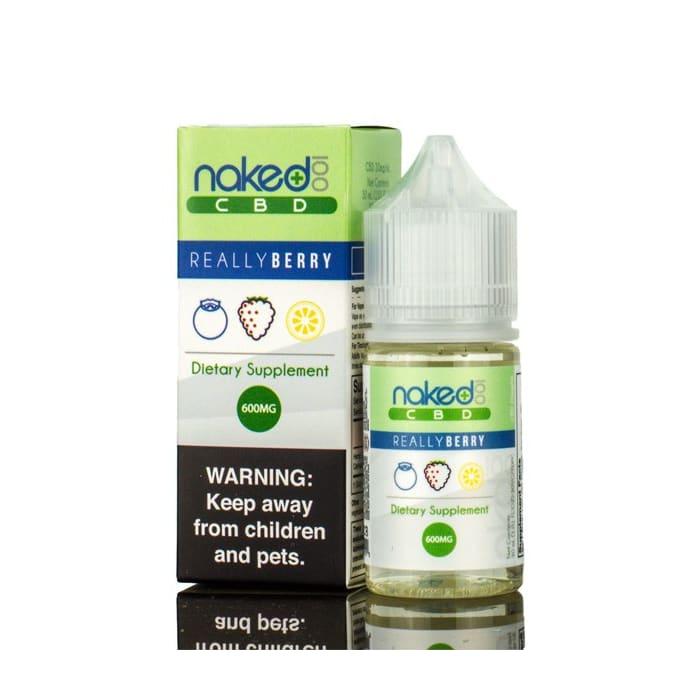 Naked 100 Amazing Really Berry CBD Vape Juice (30mL)