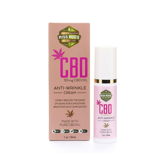 Miss Bud's Anti-Wrinkle CBD Cream