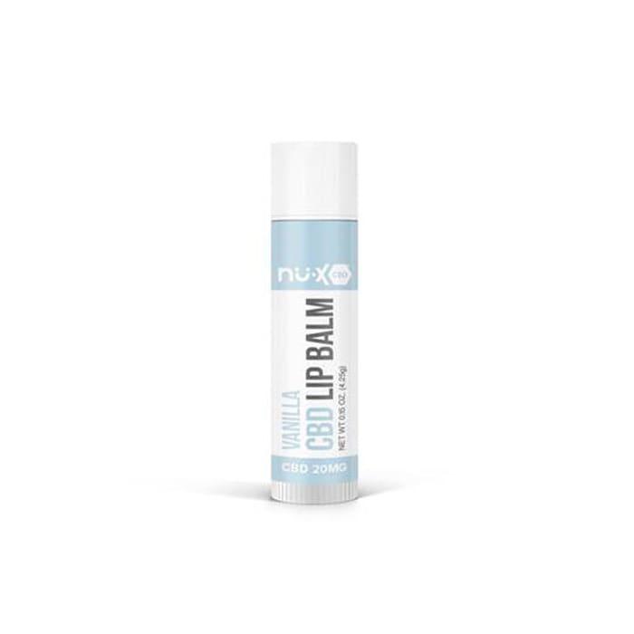 Nu-X CBD Lip Balm Vanilla - (20 mg)