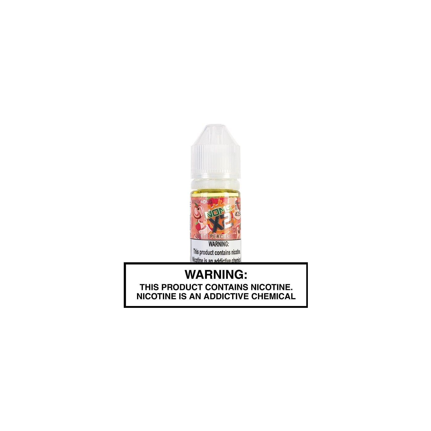Noms X2 Salts White Peach Raspberry