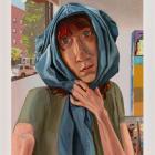 Anna Glantz, Eyesore, 2019, oil on canvas, 53 x 38 in. (134.62 x 96.52 cm)