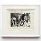 Deborah Turbeville, Untitled, 1974, B&W print, 12 × 16 in., (30.48 × 40.64 cm)