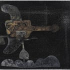 Joel Croxson, Insignia, 2011, oil and charcoal on canvas, 20 1/2 x 17 in.