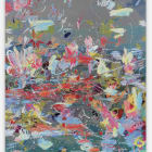 Petra Cortright, Call Trees VC++, 2014, digital painting on aluminum, 48 × 36 in. (121.92 × 91.44 cm.,) PC_FP2938