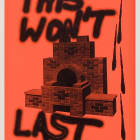 Sterling Ruby, Anti-Print Poster, 2007, letterpress on paper (in three parts), (1) 21 1/2 x 14 1/2 in., (2) 23 1/2 x 17 1/2 in., (3) 16 x 23 in., edition of 30 with 3 AP
