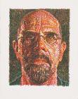 Chuck Close: Self Portrait (Scribble)