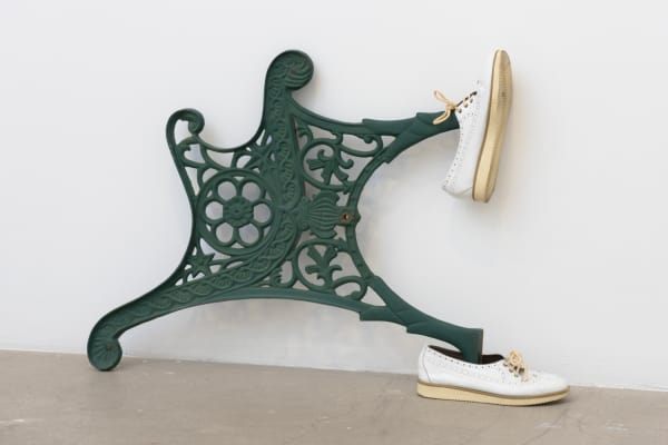 Catachresis #88 (Legs of the chair, arm of the chair,  tongues of the shoes)