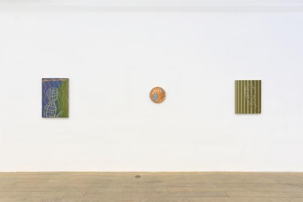 Sascha Braunig, 2015, installation view, Foxy Production, New York