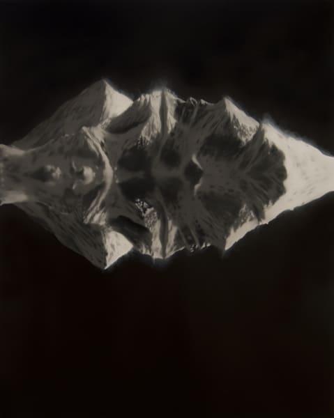 Everest reflected in the Ocean Below