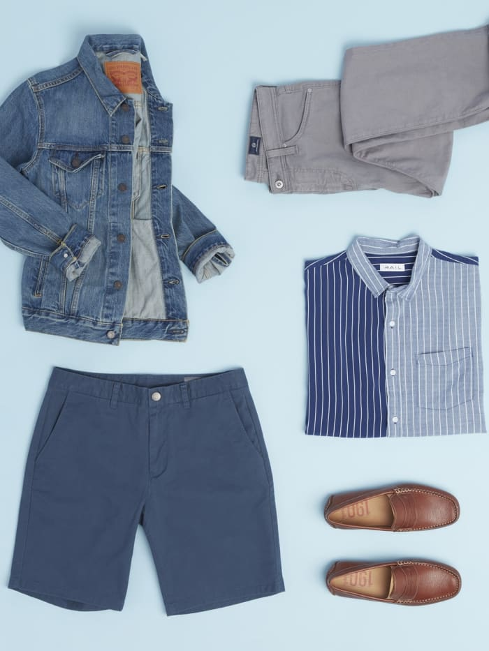 Spring essentials for men