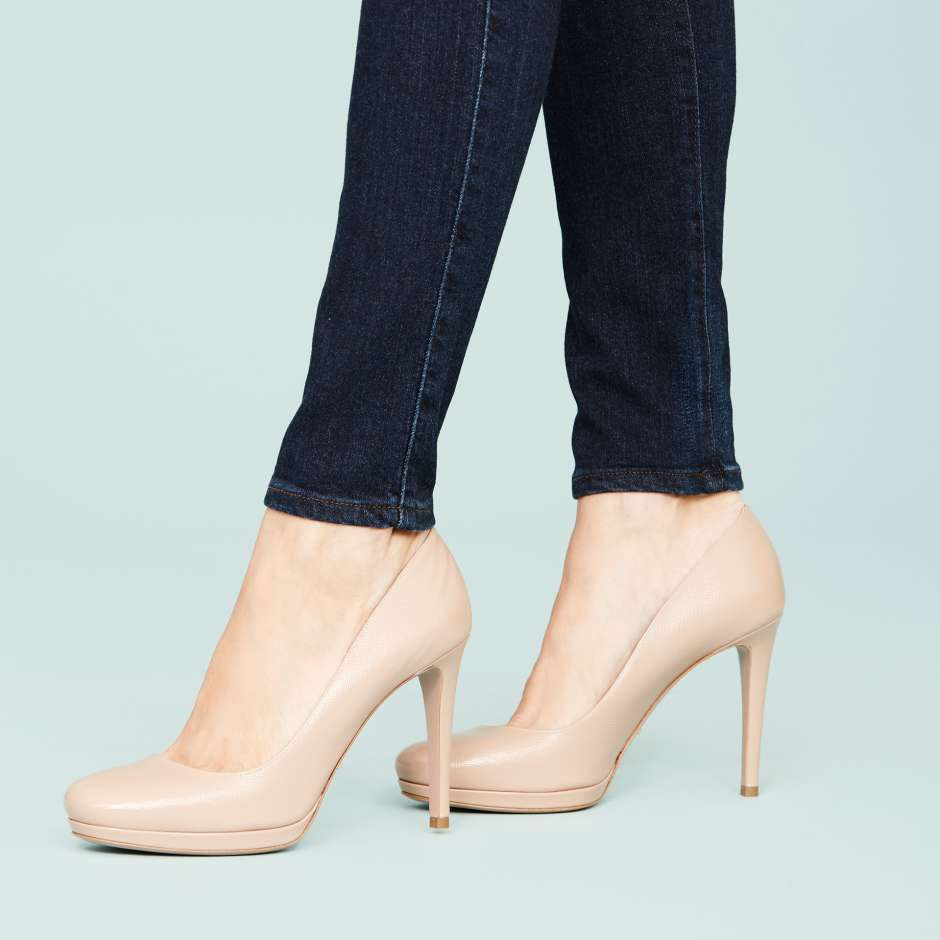 Wardrobe essentials for women Nude Pumps