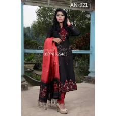 Half-Silk salwar kameez designs catalogue