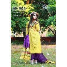 New Arrival Salwar Kameez    unstitched Half Silk salwar kameez