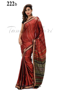 Tangail Soft Silk Katan Saree