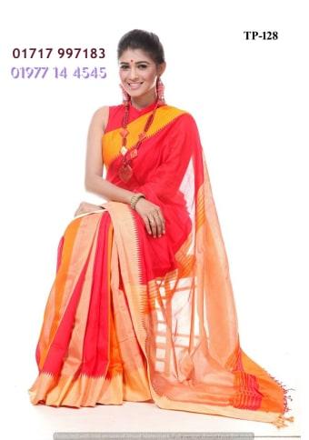 Tangail Half-Silk Saree
