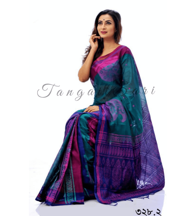Soft Masslice Cotton Sari