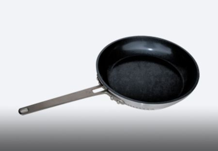 "10"" nonstick Turbo Fry Pan"